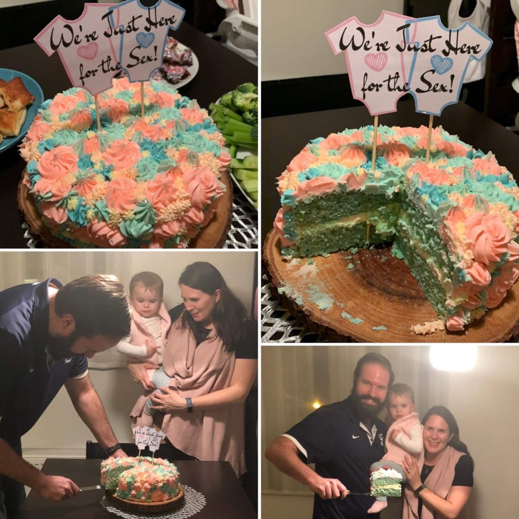 Gender Reveal for Baby Grimm #2